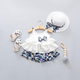$enCountryForm.capitalKeyWord NZ - Korean version 2019 summer dress girl suspender fragmented shorts 2piece baby princess suit 1 hair substitute A92007
