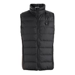 e88a50e60c8 hot vest USB intelligent vest for men and women full body heat clothing winter  warm clothing