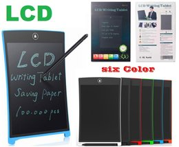 $enCountryForm.capitalKeyWord Australia - NEW LCD Writing Tablet Digital Digital Portable 8.5 Inch Drawing Tablet Handwriting Pads Electronic Tablet Board for Adults Kids Children