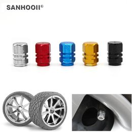 vw car accessories 2019 - 1pcs Universal Auto Bicycle Car Tire Valve Caps Tyre Wheel Air Stems Cover Accessories Car-styling for VW cheap vw car a