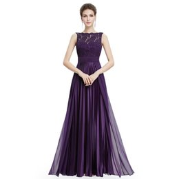 $enCountryForm.capitalKeyWord NZ - Plus Size Evening Dresses Long Lace A-line Sexy Dresses Elegant Cheap Sleeveless Floor-length Party Evening Gowns For Wedding Y190525