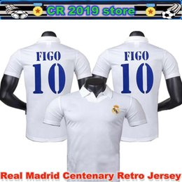 f1fbdb87276 Discount zidane jerseys - 2001 02 Real Madrid Centenary Home Shirt Figo 10  Ronaldo 05 06