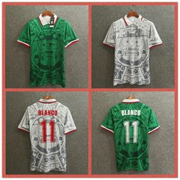 $enCountryForm.capitalKeyWord Australia - retro mexico soccer jerseys 1998 world cup home away retro football shirts custom name number BLANCO 11 soccer uniforms thailand quality