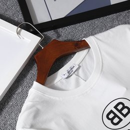 2bb16141c87630 T shirT mode online shopping - 2018 new fashion T Shirt short Sleeve O neck  BB