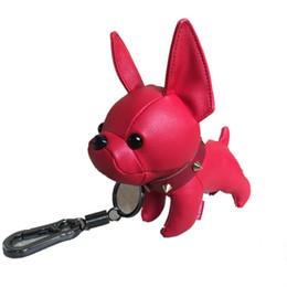 Regali della borsa di Keychain dell'automobile del pendente della borsa della mascotte del bulldog dell'unità di elaborazione 2019 in Offerta