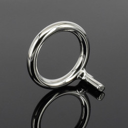 $enCountryForm.capitalKeyWord Australia - Sodandy Stainless Steel Cock Rings Metal Cock Cage Chastity Belt Bondage Gear For Men Penis Ring Chastity Device Accessories Y190716
