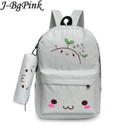 Kawaii Cute Backpacks Australia - Kawaii Emoji Backpack Feminine Canvas School  Backpack Youth Cute For Teenagers c9cbd50f6a