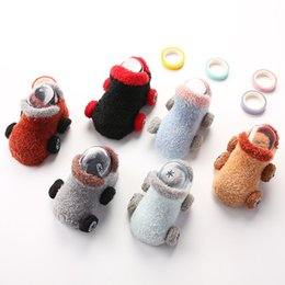 free car stuff 2020 - 0-2 Years Soft Baby Socks Autumn Winter Warmers Floor Non Slip Socks Toddler Cartoon Car Cotton Sock Newborn Socks Baby