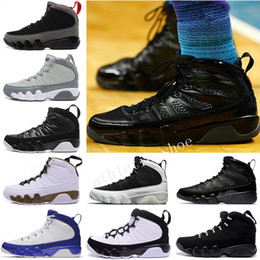 6a018b40d67 Hot Cheap New 9 BG GS space Jam 9S B BLACK BOTTOM PHOTO BLUE COUNTDOWN PACK  BARONS BRYANT PE ANTHRACITE Wholesale Basketball Shoes US 7-13