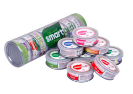 $enCountryForm.capitalKeyWord Australia - Smartbud Empty Tin Cans 15 Flavors 3.5 Gram Organic Smart Bud Carts Jar Tank For Dry Herb Flower Vape Cartridge Packaging