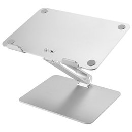 adjustable laptop tablet NZ - New Hot Universal Aluminum Alloy Laptop Holder Stand Foldable Adjustable Rack for Notebook Tablet NV99 car