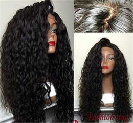 Sale Remy Full Lace Wigs Australia - Hot Sale Wave Full Lace Wigs Baby Hair   Lace Front Wig Grade 8A 100% Brazilian Virgin Remy Human Hair Wig For Black Women