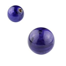 gear types NZ - Pearl Shift Knob Gear Knob Purple Ball Type for AT MT Shifter 3 Types Adapters Auto Styling Cool Funny Automobile Acessories Popular Hit