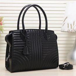 $enCountryForm.capitalKeyWord Australia - High quality woman handbag luxury designer handbags purses fashion leather girl handbag tote ladys black shoulder cross body bags
