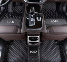 $enCountryForm.capitalKeyWord NZ - Mercedes-Benz GLC AMG 2017-2018 car anti-slip mat luxury surrounded by waterproof leather wear-resistant car floor mat with logo