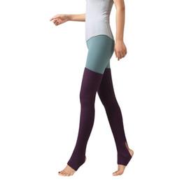 5a5958b4c38 75cm Women Girls Knee High Leg Warmers For Dance Latin Ballet Party Club  Acrylic Wool Legwarmer Stretch Yoga Socks For Pilates