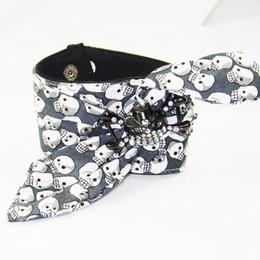 $enCountryForm.capitalKeyWord NZ - Punk Rock Pirate Ship Skull Skeleton Bracelet Wide Cotton Knot Cuff Bangles Woman Man Casual Personality Crystal Wristband