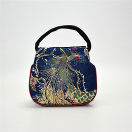 $enCountryForm.capitalKeyWord UK - Women Sequins Ethnic Style Canvas Bag National Phoenix Embroidery Handbag Lady Retro Clutch Package Small Handbag bolso mujer#40