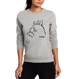 $enCountryForm.capitalKeyWord Australia - 2019 Hot New Women Hoodies Sweatshirts Totoro Cartoon Print Spring Winter Female Sweatshirt Kawaii Lady Hoody Tracksuit Harajuku