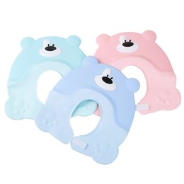 $enCountryForm.capitalKeyWord UK - Baby Shower Earmuffs Waterproof Environmentally friendly Children Cartoon Cute Portable Cleaning Convenient Bath Cap Thickening Adjustable