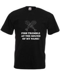 Cosplay names online shopping - Fish Tremble At The Sound Of My Name Adults Printed T Shirt Harajuku Summer Tshirt Fear Cosplay Liverpoott Tshirt
