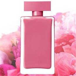 trendy roses NZ - Trendy 3 different perfume pink bottle rose red bottle black bottle Attractive fragrance for women long lasting time free shipping.