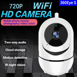 Cctv Wifi Ip Australia - HD 7200P Cloud IP Camera WiFi Wireless Smart Auto Tracking Of Human Home Security Surveillance CCTV Network Camera Baby Monitor