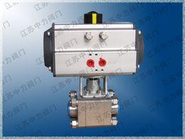 $enCountryForm.capitalKeyWord Australia - Pneumatic stainless steel three-piece ball valve