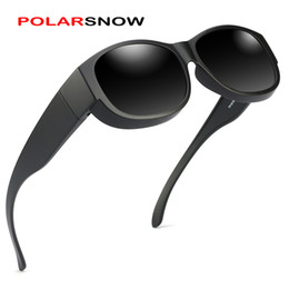 d3f45eb8862 Polarized Fit Over Sunglasses Australia - POLARSNOW Brand Unisex Sunglasses  Polarized Glasses Fit Over Prescription Glasses