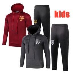$enCountryForm.capitalKeyWord NZ - Best quality 18 19 newst kids RAMSEY Hoodies 2019 boys tracksuits THAUVIN sportswear GIROUD child long sleeve boys training suits