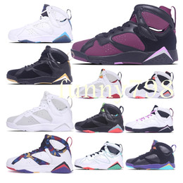 c8c70e98465036 high quality 2019 7 Mens 7s Basketball Shoes Women men Designer Wave Runner  retro baskets Sports Trainers chaussures Sneakers