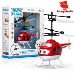 Light Helicopters Toy NZ - Sensor Aircraft Baby Ball LED Light Flying Toy Ball Novelty Toys RC Drone Levitated Intelligent Drone Helicopter For Kids Children Gift