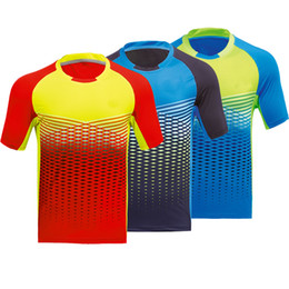 badminton clothing UK - New badminton Jersey sportswear fast-drying breathable women's table tennis men's team clothing short-sleeved T-shirt, free shipping
