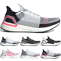 9b3bb5a34 2019 Ultra Boost 19 Men Women Running Shoes Ultraboost 5.0 Laser Red Dark  Pixel Core Black Ultraboosts Designer Sport Sneaker Size 36-47