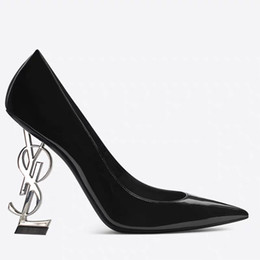 Black Evening Dresses For Ladies Australia - Designer Women High Heels Leather Shoes Pointed Toe Bride Wedding Evening Prom Party Dress Shoes For Sexy Ladies Fashions Black Pumps 9cm