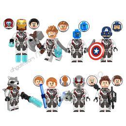 Avengers Black Widow Figure NZ - building blocks Sets Marvel the Avengers Endgame Kid Toys Gifts Mini Superhero 8cs Iron Man Captain America Thor Black Widow Nebula Figures