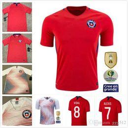 Chile jerseys online shopping - Chile Soccer Jerseys Copa America ALEXIS A VIDAL VALDIVIA MEDEL PINILLA VARGAS Shirts Home Away Football Shirts