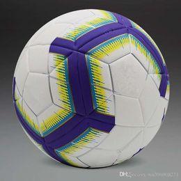 Wholesale soccers for sale – custom 2018 New England League soccers Anti slip granules Soccer ball High quality football PU size