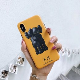 Cute Cases for samsung online shopping - Mytoto cute cartoon XX kaws lovely Hug doll funny Mobile Phone Case for iphone s plus plus X XR XS MAX fashion case Rated bas