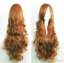 $enCountryForm.capitalKeyWord Australia - WIG free shipping New Adult Anime The Twelve Kingdoms Curly Wavy Long Hair Cosplay Wig Anime Party
