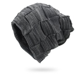 $enCountryForm.capitalKeyWord NZ - Winter Men Hats Knitted Keep Warm Thick Soft Beanies Hats Winter Accessories Skullies & Beanies Male Beanies Caps Cotton Autumn S1218
