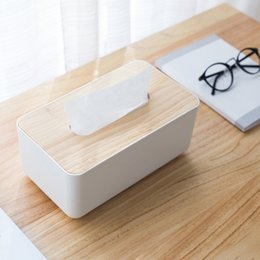 kitchen tissues Australia - 1pc Good Quality Baby Wipes Box Durable Tissue Box Portable Tissue Container Home Kitchen Accessories Reusable Napkin Holder