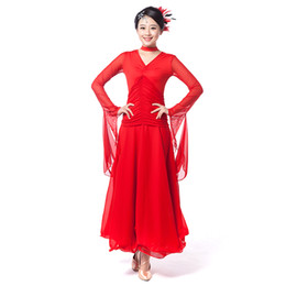 Wholesale belly dress white for sale - Group buy ballroom dance dresses Adult black red white women jazz dance costumes S XXXL nicki minaj costume ballroom dancing skirts