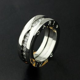 $enCountryForm.capitalKeyWord Australia - New arrival Brand name top quality Titanium steel Rings crystal Width 1.2cm for Women and Men wedding jewelry free shippin