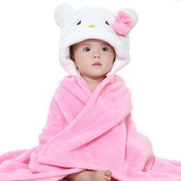 Autumn Boy Girl Towels Cartoon Poncho Hooded Bath Kids Clothes Baby Towel  Newborn Blanket Children Bathrobe Wrap Toalha De Banho f4ba572e4