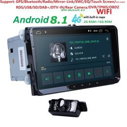 "$enCountryForm.capitalKeyWord NZ - Android 8.1 9""2din Car AutoAudio for V W POLO GOLF 5 6 PASSAT B6 CC J ETTA TIGUAN TOURAN EOS SHARAN SCIROCCO CADDY GPS Navi"