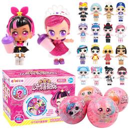 Toptan satış Çocuk doğum günü kızlar için Orijinal Kutusu Bulmaca Oyuncaklar ile Sürprizler Oyuncak lol Bebekler için 2019 Yeni EAKI hakiki DIY Çocuklar