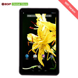 Tft Tablet NZ - New 9 Inch Cheap Video Pad Tablets Pc Quad Core 8GB Storage Android 4.4 OS 800*480 TFT LCD Screen Gift for Kids