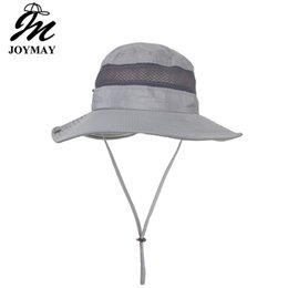 a9f7d456ee978 Joymay Solid Color Boonie Hats Nepalese Cap Militares Army Mens Military Hiking  Hats Summer Bucket Hat Fishing Hat YF018