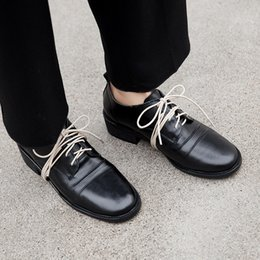 efe7caa009e2c Retro Oxfords Genuine Leather Woman Oxford Shoes British Style Vintage Soft Leather  Flat Shoes Casual Oxford for Women Wholesale as160